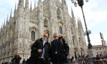 Szakmai gyakorlat Milánóban