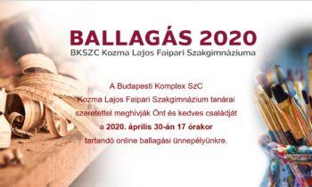 BALLAGÁS 2020.